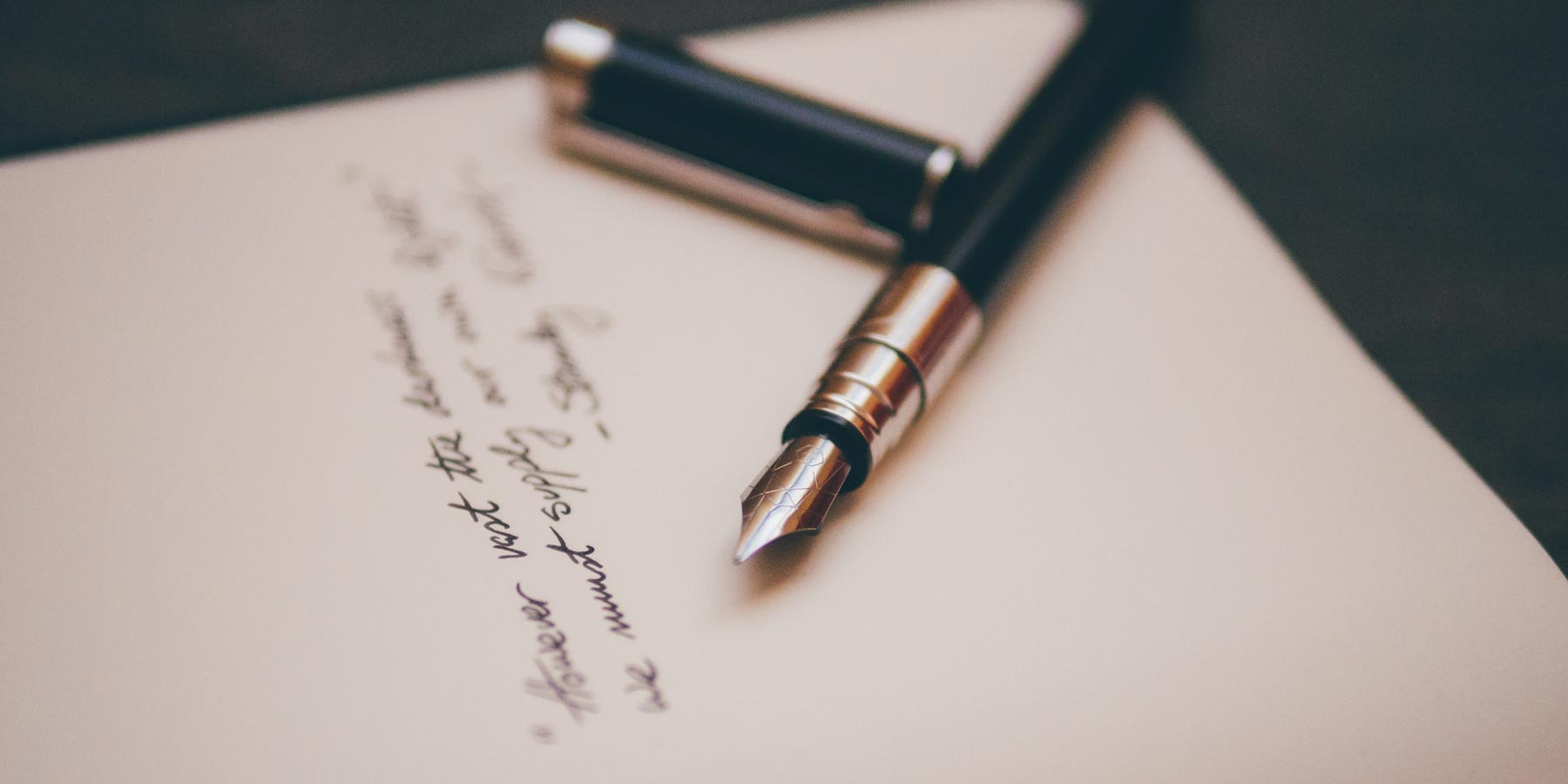 written testimonial